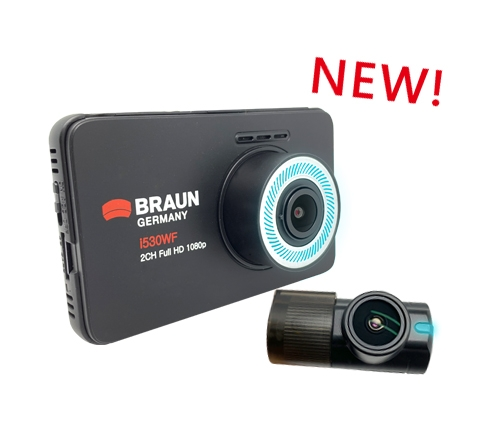 i530WF FHD Dual Camera Driving Recorder (Extra Purchase Point to Point installation fee)