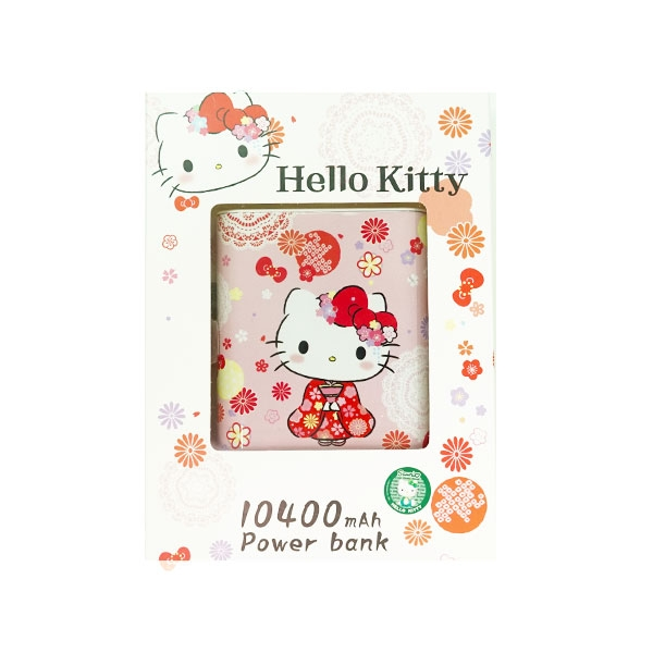 Sanrio Characters Hello Kitty 外置充電器 10400mAh 九折優惠